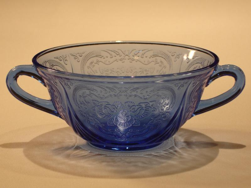 Cobalt Blue Depression Glass Pattern Identification And