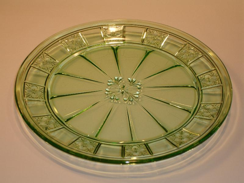 Green Depression Glass Pattern Identification And Photos