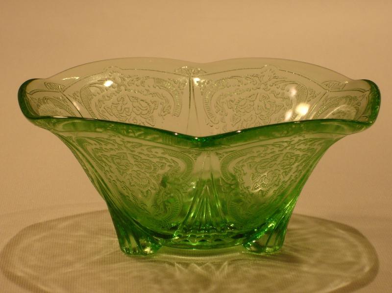 Green Depression Glass Depression Glass Antiques